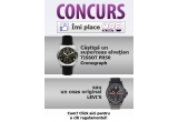 1 x ceas elvețian original Tissot PR 50 Cronograf, 1 x ceas original Levi's