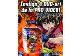 4 x DVD Bakugan