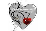 un pandant in forma de inima (Crystallized Swarovski Elements) din linia de accesorii a Cosminei Englizian