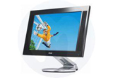 <b>Un monitor LCD Asus PW191 </b><br />