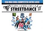 3 x invitatie dubla la Finala Bucuresti (5 martie) + la Marea Finala Nationala (12 martie) a Cupei Liceelor la Street Dance