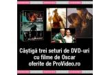 3 x set de DVD-uri cu filme de Oscar