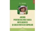 """cartea """"Jocuri pentru dezvoltarea inteligentei si creativitatii copiilor"""" (Polirom)"""