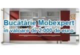 5 x blender Philips / saptamana, 1 x voucher de 2000 euro pentru o bucatarie Mobexpert utilata