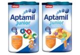 un sterilizator de biberoane + o cutie de Aptamil, 5 x 2 cutii de Aptamil