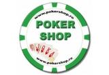 1 x set 500 jetoane model Darts, 1 x set cu Cana Las Vegas Mare + Card Guard Texas Hold'em, 1 x Poker Card Guard GOOD LUCK