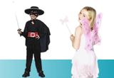costume de Halloween un costum de Zana, un costum de bandit