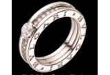 un inel din aur cu un diamant de 0.25 carate