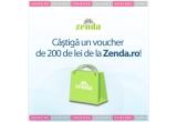 un voucher de 200 Ron pe Zenda.ro