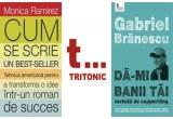 """1 x cartea """"Da-mi banii tai. Metoda de copywriting"""", 1 x cartea """"Cum se scrie un bestseller. Tehnica americana pentru a transforma o idee intr-un roman de succes"""""""