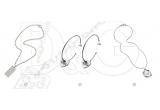 2 x lant barbatesti din otel D&G, 2 x pereche de cercei D&G, 2 x lant dama din otel D&G