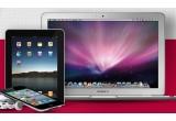 1 x pachet de distractie Apple (iPod Touch + Macbook Air + iPad2)