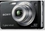 un pachet cu aparat foto Sony 12.1 MP + card de memorie 2 GB