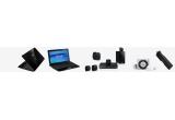 2 x laptop, un sistem Home Cinema LG, un Apple Ipod Shuffle, un stick de memorie Kingston