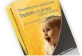 """cartea """"Ghidul diversificarii alimentatiei bebelusilor"""""""