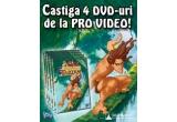 """4 x DVD """"Tarzan"""""""
