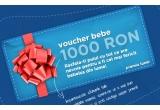 2 x voucher de 50 Ron /saptamana, 1 x voucher de 1000 Ron /luna (pe strollers.ro)