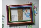 1 x set rama handmade din creioane + poza realizata de organizator