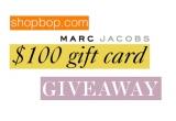 un voucher de 100 de dolari pe shobop.com (pentru Marc Jacobs)