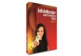 un antivirus BitDefender AntivirusPro 2011 cu licența de 1 an pentru 3 calculatoare