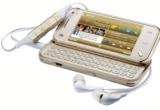 un telefon Nokia N97 mini gold