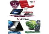 3 x kit de lectura cu tabelta DELL + fotoliu + abonament de 6 luni la EVZ, 5 x laptop DELL Inspiron, 20 x telefon Nokia C3