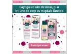 3 x set Kneipp cu ulei de baie + lotiune de corp cu migdale