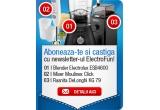 1 x Mixer/Blender Electrolux ESB4600, 1 x Mixer/Blender Moulinex Click and Mix 450, 1 x Rasnita de cafea DeLonghi KG 79