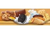 200 x bax de biscuiti /saptamana, 1 x card de cuparaturi de 5000 Ron, 5 x card de cumparaturi de 2000 Ron