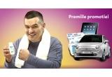o masina Fiat 500, 7 x Apple iPad 16GB 3G, 8 x 24 de pachete Actimel