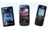 3 x telefon mobil