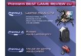 1 x laptop de gaming ASUS G73, 1 x rucsac Asus Lamborghini, 1 x mouse de gaming Asus GX900