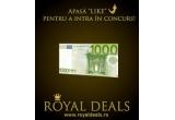 1 x 1000 de euro