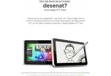 2 x tableta HTC Flyer, 2 x ilustratie creata pe baza fotografiei de profil Facebook