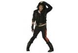1 x Costum Michael Jackson, 2 x Palarie Michael Jackson, 2 x Set de bratari si coliere fosforescente