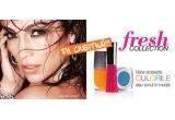 5 x set de make-up (gloss, fard de pleoape, lac de unghii) din Freshh Collection, 5 x mascara Million Lashes