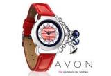 8 x set produse cosmetice AVON (un ceas Marine Nautical si un Ruj Colordisiac)