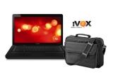 1 x laptop HP Presario CQ62-410 + geanta notebook Trust BG-3450p
