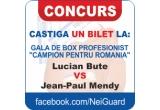"2 x bilet la Gala de box profesionist ""Campion Pentru Romania"""