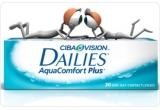 30 x kit cu 5 perechi de lentile de contact DAILIES AquaComfort Plus + 10 flyere