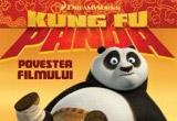 """o carte """"Kung-Fu Panda-Povestea filmului"""", editura Nemi"""