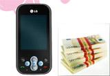 &nbsp;un telefon mobil&nbsp; LG KS360 pe zi, 3000 euro in fnala<br />