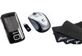 <b>Un mp4 player, un mouse wireless, un mousepad<br type=&quot;_moz&quot; />