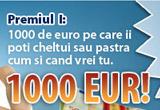un premiu in valoare de 1000 Euro, 1 x saltea Dormeo Orthopedic, 1 x saltea Dormeo Roll-Up, 1 x mini-laptop, 1 x e-book gratuit cu sfaturi despre somn, sanatate si sex