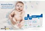 6 x set MUSTELA (Mustela Bebe Dermo Cleasing 500 ml, Mustela Hidra Bebe Lotiune de Corp, Mustela Servetele de Fata cu PhysioBebe)