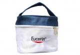 5 x lotiune de plaja SPF30, 5 x borseta Eucerin cu 5 produse mini (2 sampoane Eucerin PH5, 2 geluri de dus Eucerin PH5, balsam de buze Eucerin Lip Aktiv)