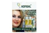 3 x trusa Hofigal (un deodorant natural Hofigal + un gel Supliform + un lapte demachiant Hof.Viodana + o crema antirid monodoze Hof.Viodana + un lapte pentru ingrijirea corpului Hof.Viodana)