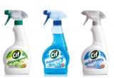 15 x set Cif spray (Cif spray pentru baie + Cif spray pentru bucatarie + Cif spray pentru geamuri si suprafete lucioase)