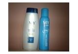 1 x set cu sampon antimatreata MY + deodorant MY, 1 x set cu sampon volume MY + sapun crema MY, 1 x set cu crema de maini Q10 MY + crema de corp pro vitamin B5 MY