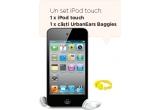 1 x iPod touch + casti UrbanEars Baggies, 2 x set iPod nano + wristband + casti UrbanEars Baggies